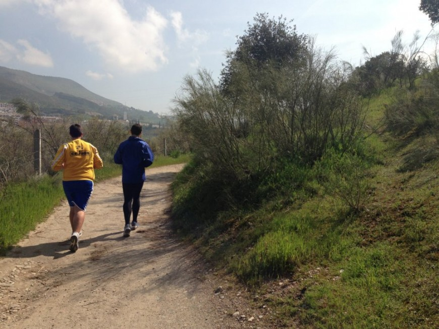 Running en el río Genil 2012/13
