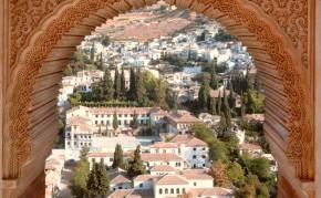 Vista al barrio del Albaicín