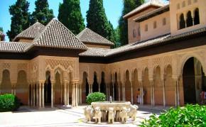 Patio de los leones, La Alhambra de Granada