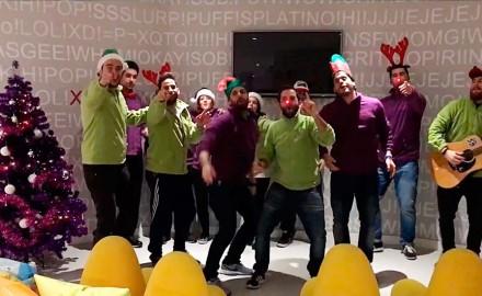 Vídeo de Felicitación Navideña Staff